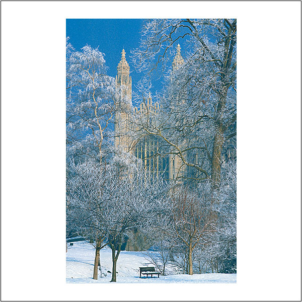 CP0001 King's Chapel Snow
