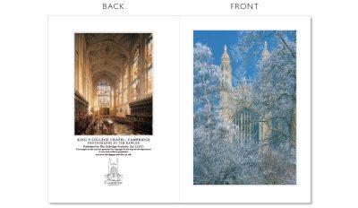 LCCC1 Cambridge Christmas Cards | The Oxbridge Portfolio