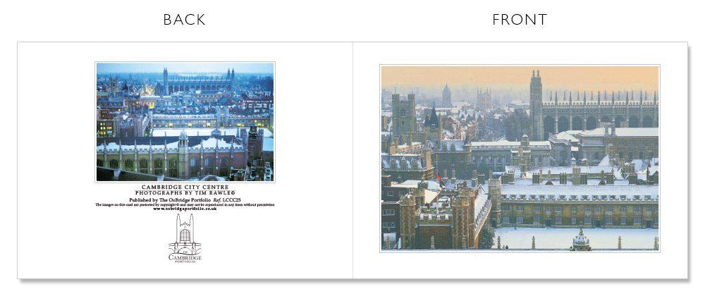 LCCC25 Cambridge Christmas Cards | The Oxbridge Portfolio