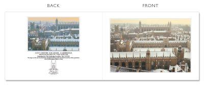 LCCC27 Cambridge Christmas Cards | The Oxbridge Portfolio