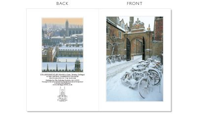 LCCC3 Cambridge Christmas Cards | The Oxbridge Portfolio
