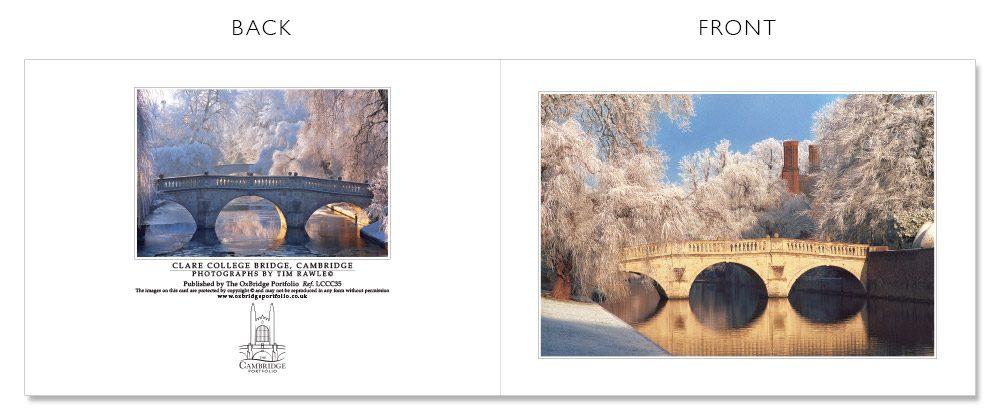 LCCC35 Cambridge Christmas Cards | The Oxbridge Portfolio