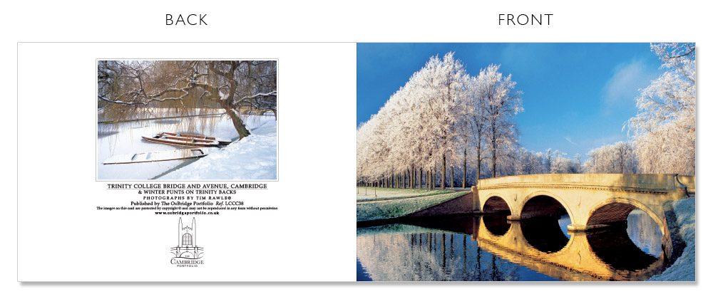 LCCC38 Cambridge Christmas Cards | The Oxbridge Portfolio