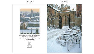 LCCC4 Cambridge Christmas Cards   The Oxbridge Portfolio