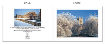 LCCC41 Cambridge Christmas Cards | The Oxbridge Portfolio