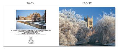 LCCC42 Cambridge Christmas Cards | The Oxbridge Portfolio