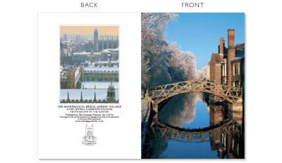 LCCC6 Cambridge Christmas Cards | The Oxbridge Portfolio