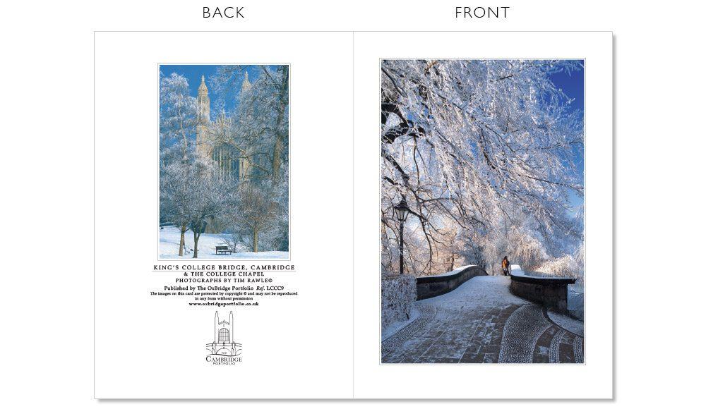 LCCC9 Cambridge Christmas Cards | The Oxbridge Portfolio