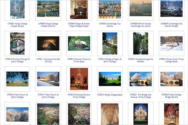 Cambridge Portfolio Image Galleries