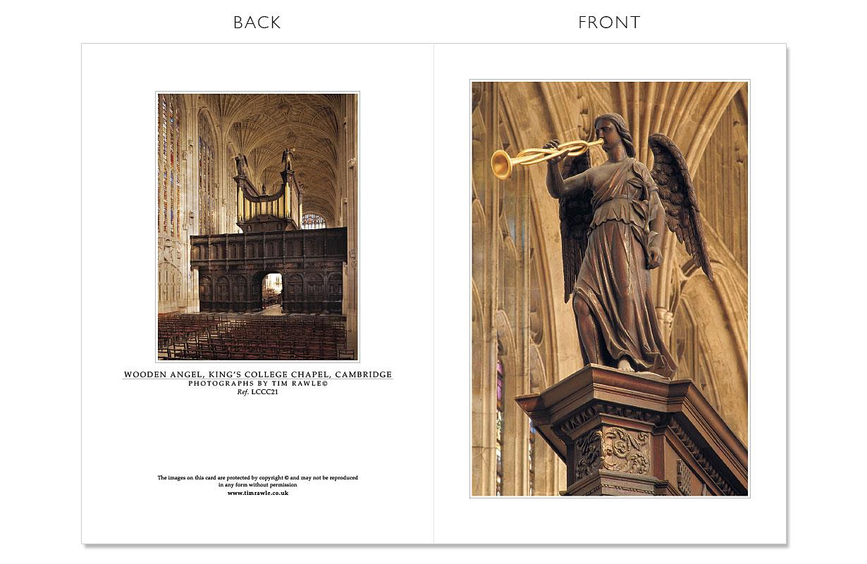 Cambridge Customised Christmas Cards by Tim Rawle